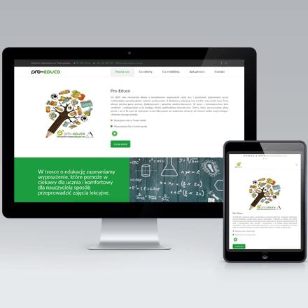 Strona Internetowa Pro Educo
