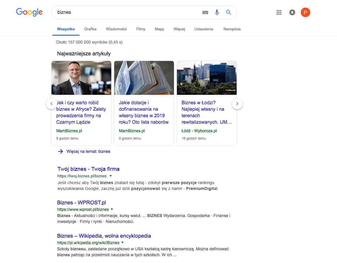 google-biznes
