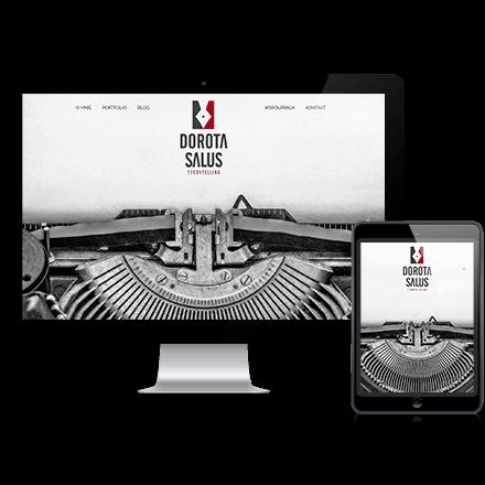 Strona internetowa Dorota Salus zrealizowana przez Agencję Interaktywną Premium Digital