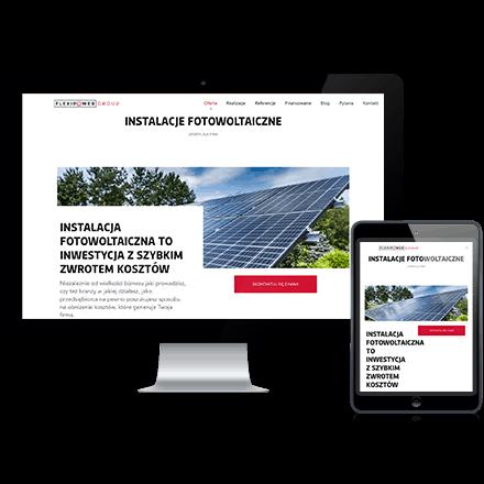 Strona internetowa Flexipower Group zrealizowana przez Agencję Interaktywną Premium Digital