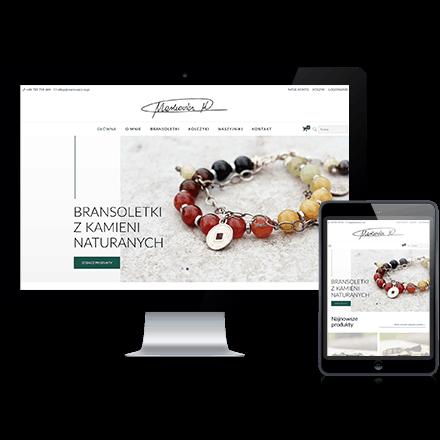 Strona internetowa sklepu Markowicz M zrealizowana przez Agencję Interaktywną Premium Digital