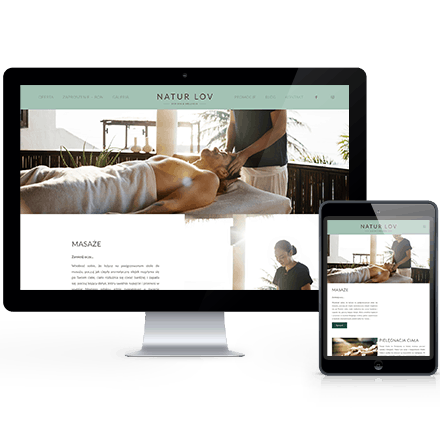 Strona internetowa NaturLov zrealizowana przez Agencję Interaktywną Premium Digital